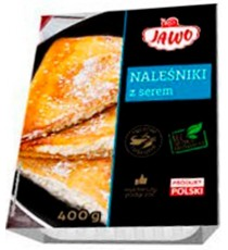 NALESNIKI Crepes con requeson 400gr JAWO